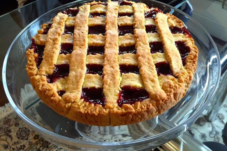 Raspberry Jam Crostata